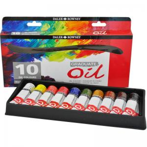 Graduate Oil Selection set